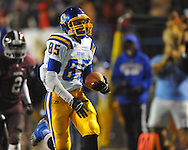 Oxford High's Joey Walden (85) scores vs. Picayune in the MHSAA Class 5A championship game at Mississippi Veterans Memorial Stadium in Jackson, Miss. on Saturday, December 7, 2013.