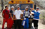 """4/26/2010 - MTV's """"The Dudesons"""" Perform a Bus Roll Stunt in Los Angeles"""