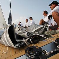 Voiles de Saint-Tropez 2009. Onboard Ryokan, Wally 80