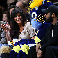 Entertainment - Jennifer JWoww Farley at Indiana Pacers vs Chicago Bulls - Indianapolis, In