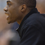 12/27/11 Wilmington DE: South Shore Head Coach Anwar Gladden yells out instructions to his team during a Diamond State Classic game Tuesday Dec. 27, 2011 at St. Elizabeth High School in Wilmington Delaware...Special to The News Journal/SAQUAN STIMPSON