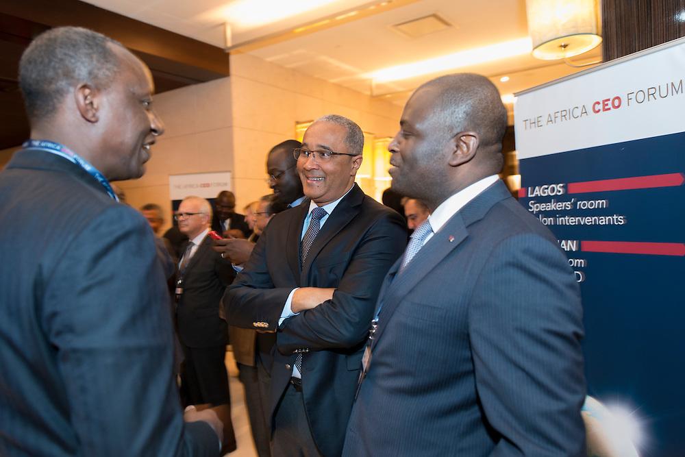 Serge Thierry Mickoto(Fonds Souverain du Gabon), Africa CEO Forum 2015