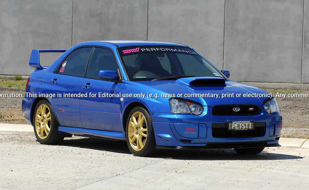 2004 My04 Subaru Impreza Wrx