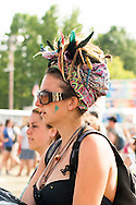 Head Scarf and Feathers, Bonnaroo