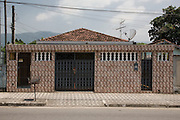 A tiled middle-class house in Cubatão