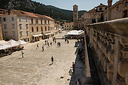 Travel in Croatia<br /> <br /> Central square of Hvar town on Hvar Island.<br /> <br /> June 2013<br /> Matt Lutton