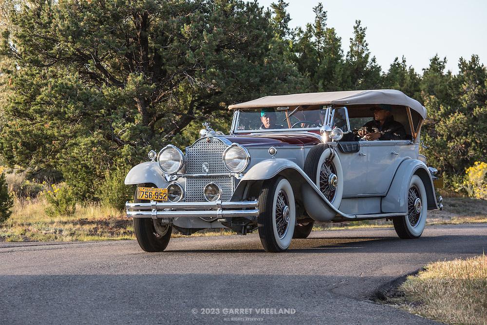 1934 Packard 754 Super 8, 2012 Santa Fe Concorso High Mountain Tour.