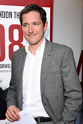 Bertie Carvel attends 1984 Play press night at The Playhouse, Norththumberland Avenue, London on Thursday 18 June 2015