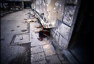Bosnia war, Mostar 1993.