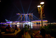 Singapore - Light Show at the Marina Bay Sands