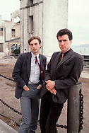OMD 1981 Orchestral Manoeuvres  Paul Humphreys and Andy McCluskey on Alcatraz