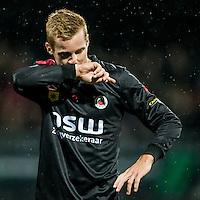 ROTTERDAM - Excelsior - PEC Zwolle , Voetbal , Eredivisie , Seizoen 2016/2017 , Stadion Woudestein , 21-10-2016 , Excelsior speler Mike van Duinen baalt van gemiste kans