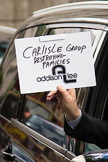 2016-05-24 Addison Lee Drivers protest in Berkeley Square