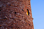 Detail of the Watchtower at Desert View. Grand Canyon National Park.