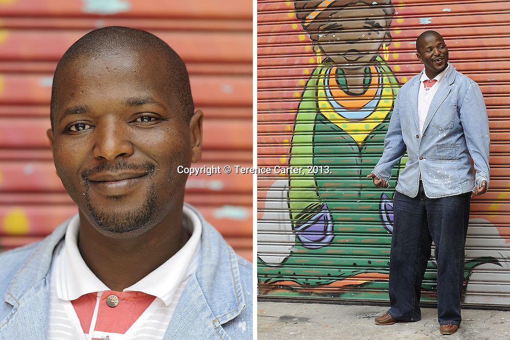 Sabelo Maku, tour guide, Cape Town, South Africa. Copyright 2014 Terence Carter / Grantourismo. All Rights Reserved.