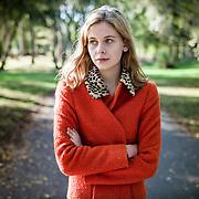 Portrait of Actress, Sorcha Groundsell.