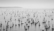 The 2014 JP Morgan Asset Management Round the Island Race. Isle of Wight, England.