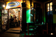 A bar in the Barranco neighborhood on Thursday, Apr. 9, 2009 in Lima, Peru.