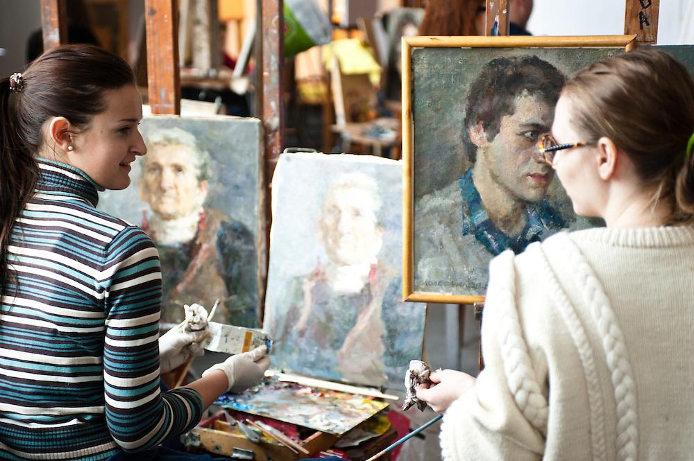 The National Academy of Fine Arts and Architecture.Smirnova-Lastochkina St., 04053, Kyiv, Ukraine.Mr Stopin.044-272.1407