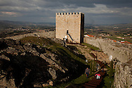 Celorico da Beira Castle, in Guarda, Portugal.