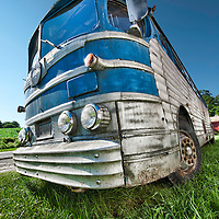"""Connecticut """"Early American"""" antique private coach bus"""