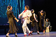 Rafael Amargo Company Poet in New York as partf of the Sadler's Wells Theatre Flamenco Festival, London 2012. Poet in New York is based on a poem by Federico García Lorca. The show evokes the time, place and culture in which Lorca was writing through stunning 1930s inspired video and imagery. Featuring Rafael Amargo & Yolanda Jiménez.