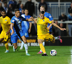 Billy Bodin of Bristol Rovers Shoots - Mandatory byline: Joe Meredith/JMP - 07966 386802 - 29/09/2015 - FOOTBALL - Victoria Park - Hartlepool, England - Hartlepool United v Bristol Rovers - Sky Bet League Two