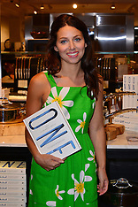 JULY 13 2013 Florence Knight book signing at Harrods