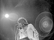 Steven Tyler performs with Aerosmith at the Honolulu International Center Arena in 1974.  The Honolulu International Center (HIC) has now been re-named the Neil S. Blaisdell Arena..©PF Bentley/PFPIX.com