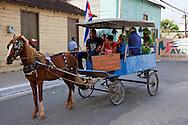 Parade in Niquero, Granma, Cuba.