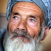 Abdul Salaam a farmer in the village of Sala Khan Khel, Parwan, Afghanistan on the 5th of July 2010.