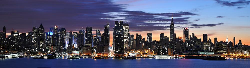 Morning in Manhattan, NYC USA.
