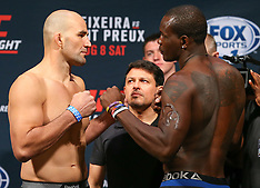 August 7, 2015: UFC Fight Night 73 Weigh-Ins