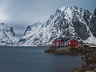 Fishing cottage in Hamnoy, Norway.