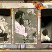 Collage of Wedding Portraits