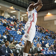 Delaware 87ers Forward Thanasis Antetokounmpo (19) attempts a three point shot during a NBA D-league regular season basketball game between the Delaware 87ers and The Fort Wayne Mad Ants Sunday, Dec. 15, 2013 at The Bob Carpenter Sports Convocation Center, Newark, DE