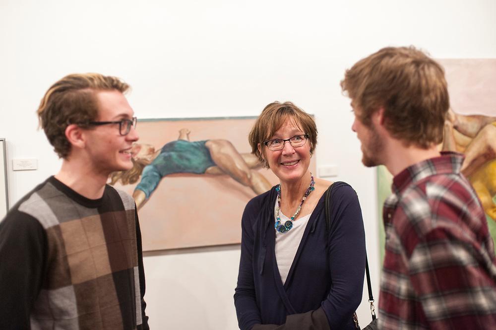 Gonzaga student artwork at the Senior Art Show April 8.