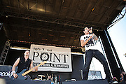 Brookroyal perform at Pointfest 26 at Verizon Wireless Amphitheater in St. Louis on June 6, 2010