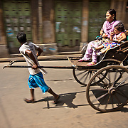 India: Rickshaw Puller of Kolkata