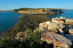 Low tide at Hall Point on the Kimberley coast.
