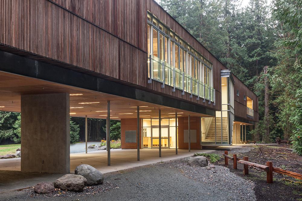Environmental Learning Centre, Squamish, BC   MacFarland Marceau Architects 2012