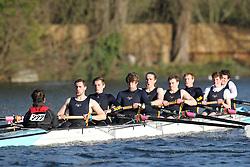 2012.02.25 Reading University Head 2012. The River Thames. Division 2. Southampton University Boat Club B Nov 8+