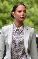 JUN 27 2014 Tulisa at Southwark Court
