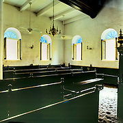Mikve Ben Israel Synagogue in the quaint old town Punda on the Dutch Caribbean island of Curacao.