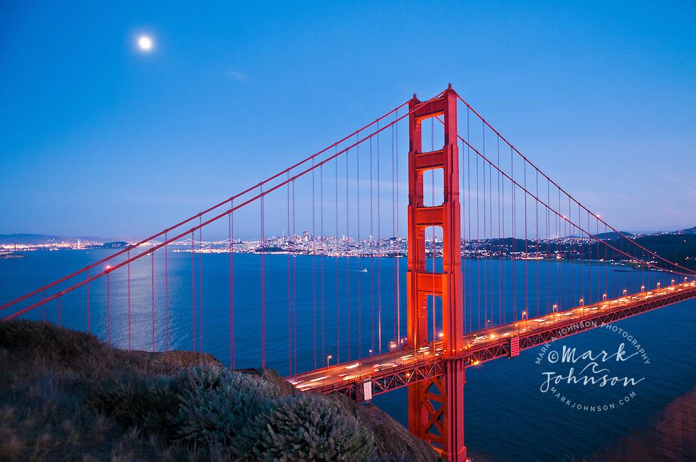 San Francisco Bridge Golden Gate Bridge Night M Car