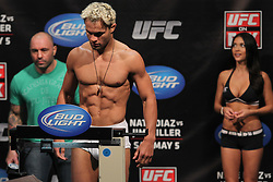 East Rutherford, NJ - May 04, 2012:   Josh Koscheck during the weigh-ins for UFC on FOX 3 at the Izod Center in East Rutherford, New Jersey.  Ed Mulholland for ESPN.com