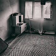 Sarajevo - 23 July 2013 - Gorica barely enter this room anymore as on of her son, Gerim, died at the age of two during the winter 2012. Temperature went down to -20 celsius that night and she found his little body inanimated on the morning.