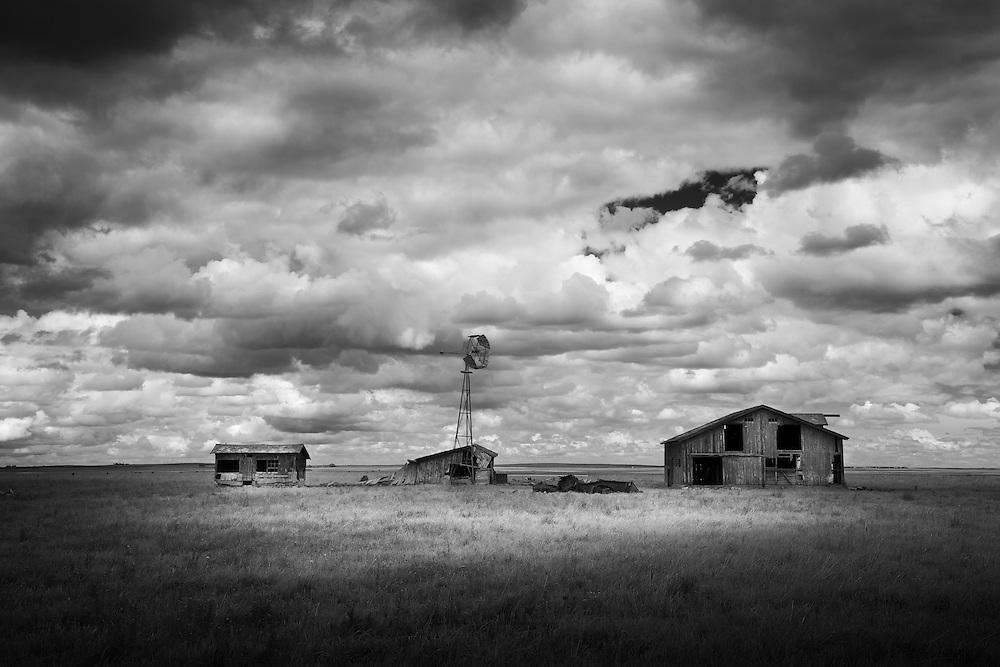 A forgotten farm near Claresholm Alberta