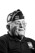 Ronald C. Burns<br /> Air Force, Navy<br /> E-7<br /> 1961 - 1984<br /> Korea<br /> <br /> Veterans Portrait Project<br /> St. Louis, MO