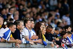 Bristol Rovers fans look on - Mandatory byline: Rogan Thomson/JMP - 07966 386802 - 12/09/2015 - FOOTBALL - Memorial Stadium - Bristol, England - Bristol Rovers v Accrington Stanley - Sky Bet League 2.